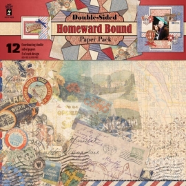 Hot Off The Press -  Homeward Bound - Double-Sided Paper Pack 30,5 x 30,5 cm