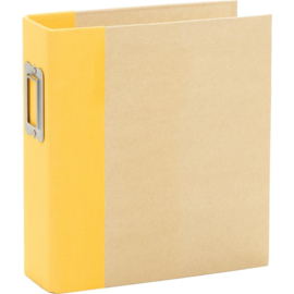 Sn@p! Binder 6 x 8 inch Yellow