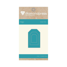 Diamond Press Multi-frame snijmallen - Tags