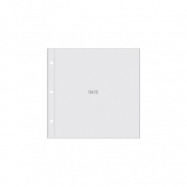 "Simple Stories - Sn@p! Pocket Pages For 12""X12"" Binders 10/Pkg"