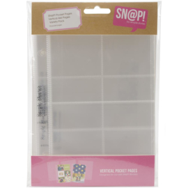 Sn@p! Pocket Pages - Variety Pack - designed for 6x8 SN@P! Binder