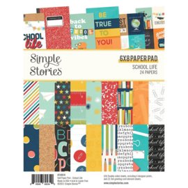 Simple Stories - School Life 6x8 Inch Paper Pad (14914)