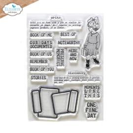 Elizabeth Craft Designs - Noteworthy - clearstamps (CS231) PRE-ORDER!!