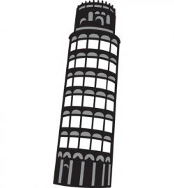 Marianne Design - Craftables - Toren van Pisa