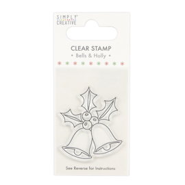 Simply Creative - Bells Clear Stamp (SCSTP025X20)