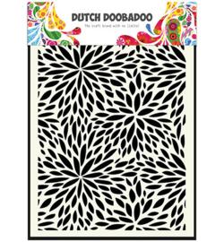 Dutch Doobadoo Dutch Mask Art stencil -  Floral Waves