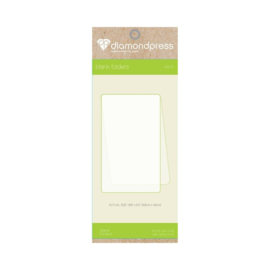 Diamond Press - Blanco folder maat B