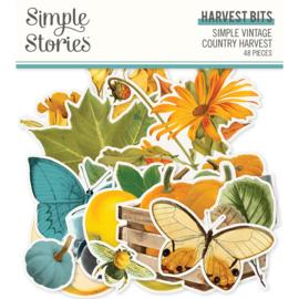 Simple Stories  - Simple Vintage Country Harvest - Harvest Bits