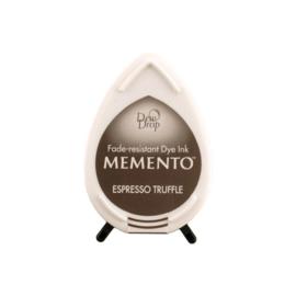 Tsukineko Memento Dew Drops inktkussen - Espresso Truffle