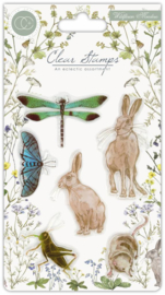 Craft Consortium - Wildflower Meadow -Clear Stamps