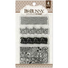 BoBunny - Doodles Stamps