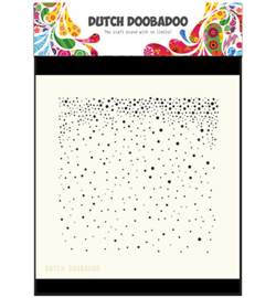 Dutch Doobadoo Dutch Mask Art stencil - Mask Art Snow