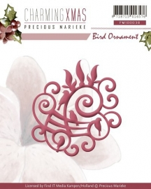 Precious Marieke - Charming Xmas - Die - Bird Ornament