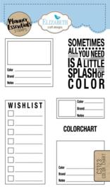 Elizabeth Craft Designs - Color Chart CS 123