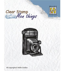 Nellie`s Choice - Clear Stamps - Men Things - Camera