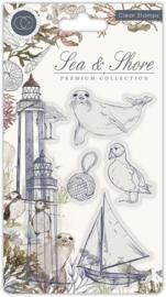 Craft Consortium - Sea & Shore - Shore - Clear Stamps