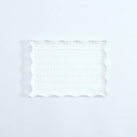 Vaessen Creative - Acrylblok 90x120mm