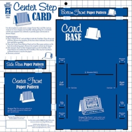 Hot Off The Press - Center Step Card Template