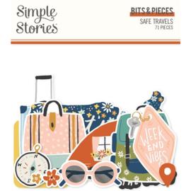 Simple Stories - Safe Travels Bits & Pieces (14816)