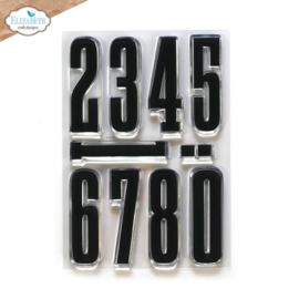 Elizabeth Craft Designs - Long & Tall Numbers- clearstamps (CS233) PRE-ORDER!!