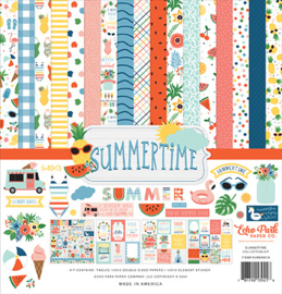 Echo Park - Summertime  - 12x12 Inch Collection Kit (30,5 x 30,5 cm)