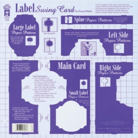 Hot Off The Press -  Label Swing Card Template
