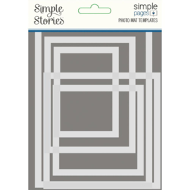 Simple Stories - Simple Pages Photo Mat Templates