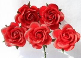 Trellis Roses - Red