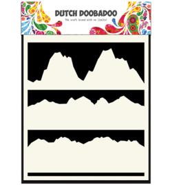 Dutch Doobadoo Dutch Mask Art stencil - Mask Art Landscape