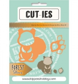 CUT-IES - Forest Fellows -  Squirrel Acorn