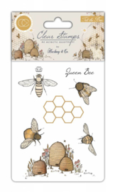 Craft Consortium - Tell the Bees - Clear Stamps