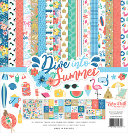 Echo Park  - Dive Into Summer - Inch Collection Kit (30,5 x 30,5 cm)