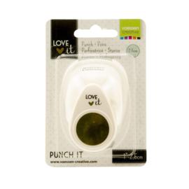 Vaessen Creative - Love It -  punch circle  - medium