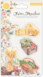 Craft Consortium - Farm Meadow - Clear Stamps -  Pick of the Crop