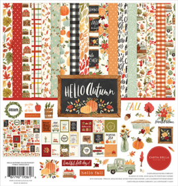 Carta Bella - Hello Autumn - 12 x 12 inch Collection Kit (30,5 x 30,5 cm)