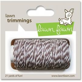 Lawn Fawn - Trimmings Hemp Cord Hot Cocoa - 21yd