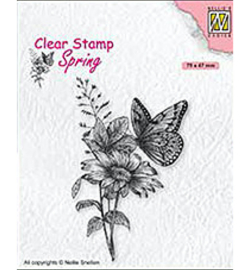 Nellie's Choice - clearstamp - Butterfly