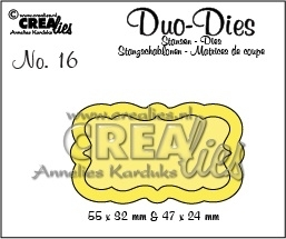 Crealies - Duo Die no. 16 Duo Labels 3