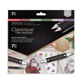 Spectrum Noir Classique Traditional Christmas (7pcs)