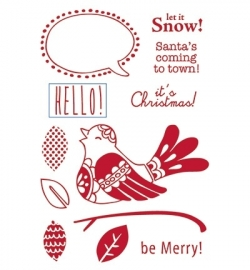 Marianne Design - Clearstamps - Eline's Scandinavian Bird