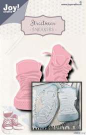 Joy! Crafts - Snij-embosstansmal - Noor - Streetwear Sneakers