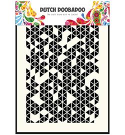 Dutch Doobadoo Dutch Mask Art stencil - Mask Art Triangles