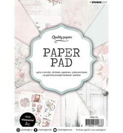 Studio Light -  Paper Pad A5 - Classic Pastel nr.131