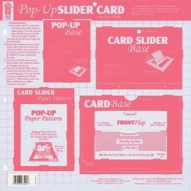 Hot Off The Press - Pop-Up Slider Card Template