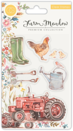 Craft Consortium - Farm Meadow - Clear Stamps -  Farm Meadow