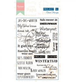 Marianne Design - Stempel Project NL - Winter