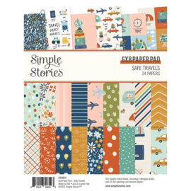 Simple Stories  - Safe Travels 6x8 Inch Paper Pad (14814)