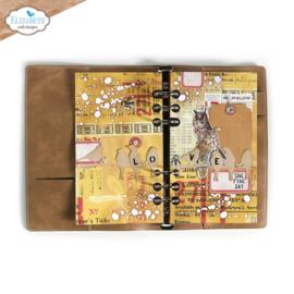 Elizabeth Craft Designs - Planner Essentials 38 - Birds on Splatter Page
