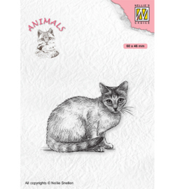 Nellie's Choice - clearstamp - Animals Cat