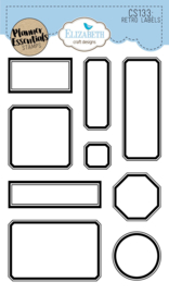 Elizabeth Craft Designs - Retro Labels